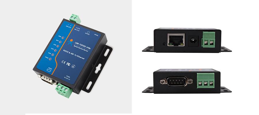 工业级双串口服务器产品图片